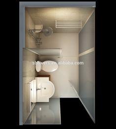 Water marked prefab bathroom,prefab bathroom pod,unit bathroom pod