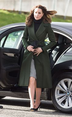 kate middleton green maxmara coat