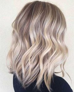 Blonde Hairstyle - Long Wavy Bob Haircut