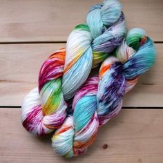 Signature Sock Yarn - Speckled Cosmic Rainbow