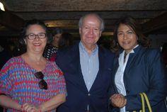 Rosana Betym da Nyty Eventos, Gerárd Bourgeaiseau e Rosangela Gonçalves, do Windsor Hotéis