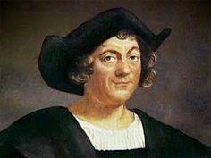 Christoffel Columbus  Geboren: 1451, Genua, Italië Overleden: 20 mei 1506, Valladolid, Spanje. Hij reisde vier keer naar Amerika.