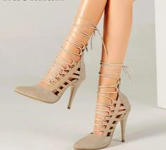 Find High Heels at affordable cheap prices.Shop High Heels that will make a difference. High heels are the ultimate trendsetter when it comes to women's fashion. Shop sexy high heels at cheap discount prices everyday at Heel Company. Platform Pumps, High Heel Pumps, Stiletto Heels, Sexy High Heels, Classy Heels, Ankle Strap Sandals, Shoes Sandals, Fresh Kicks, Ladies Party