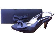 Twee Navy Ladies Shoes. #NavyWeddingShoes