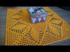 centro de mesa Leidy em croche parte 1 (canhoto) - YouTube