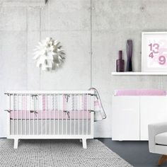 Olli & Lime Logan Crib Set