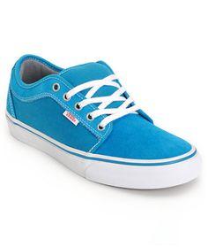Vans Chukka Low Lagoon Blue Skate Shoes