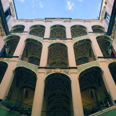 Palazzo dello Spagnolo, #Napoli.  Rione Sanità