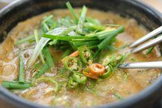 Koreai gyógyító leves Chueotang - Levesbáró