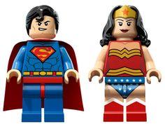 Superman und Wonderwoman