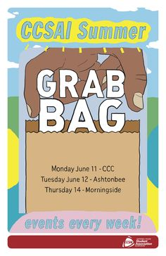 Grab bags during convocation week!