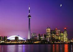 Vista del sky line de Toronto desde las islas... una de las mejores vistas de la ciudad!