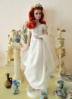 Ancient Hellenic/Greek dress for Poppy Parker Fashion