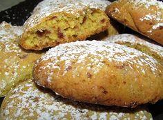 Biscotti morbidi con arancia pistacchio e cioccolato