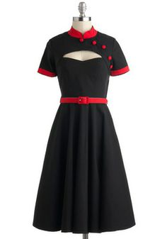 Thats it, i want my entire closet to be ModCloth!  Likability Points Dress, #ModCloth