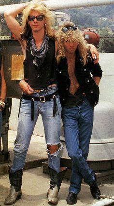 Duff McKagan and Steven Adler