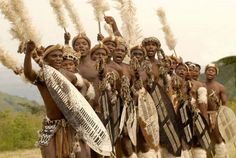 The Matabele and Zulu traditions continue to this day in ceremonies for special events. Description from matabelelandfreedomparty.org. I searched for this on bing.com/images