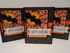 Haunting Halloween Cards by candee porter - Cards and Paper Crafts at Splitcoaststampers