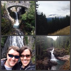 Day 2 Seattle adventures: Hiking & exploring in Mt. Rainier National Park! 60 degrees & sunny = GLORY!
