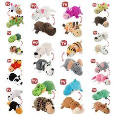 Little Flipzees Flipzee Transforming Toy Lot Baby Plush Toys For Kids Boys Girls #FlipaZoo