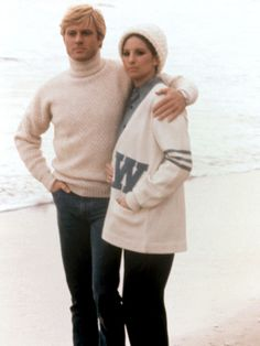 The Way We Were, Robert Redford, Barbra Streisand, 1973 Photo at AllPosters.com
