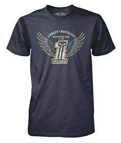 Harley-Davidson Men's Black Label Distressed Winged #1 Skull T-Shirt, Navy (2XL) Harley-Davidson http://www.amazon.com/dp/B00ZDNDJM0/ref=cm_sw_r_pi_dp_eajpwb1H19D5E
