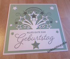 """Geburtstagskarte mit dem Set """"Geburtstagsfeuerwerk"""" von Stampin' Up!"""