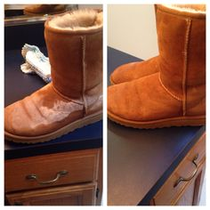 how to clean salt stains off uggs