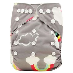 Baby Cloth Diapers Reusable Nappies Character Pattern Unisex Baby Care Pants Waterproof Pocket Cloth Diaper Baby Shower Gifts