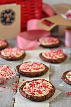 Chocolate Truffle Peppermint Crunch Cookies - SugarHero