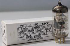 E88CC Mullard Philips made in Gt.Britain Amplitrex AT1000 tested #1750001 #Mullard