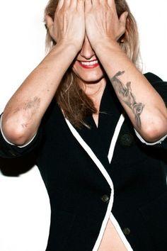 Tattooed Hare on Left Forearm <3
