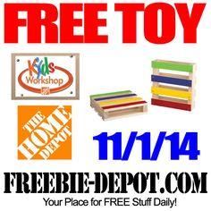 FREE Pallet Coaster at Home Depot