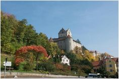 Meersburg Alte Burg, located in the Black Forest area in Baden. It dates from the seventh century and offers superb views out to the Bodensee. This is also the oldest of Germany's castles that is inhabitable.