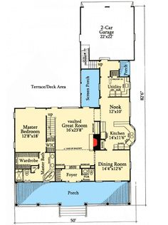 House plan id chp 27933 inlaw suite for House plans with income suite