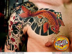 Koi+Fish+Sleeve+Tattoos+For+Men | ... tattoos co: tattoos for men on forearm cross tattoos for men on