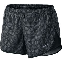 Nike Modern Printed Tempo Short ($31) ❤ liked on Polyvore featuring activewear, activewear shorts, shorts, nike, athletic, pants, athletic sportswear, nike activewear and nike sportswear