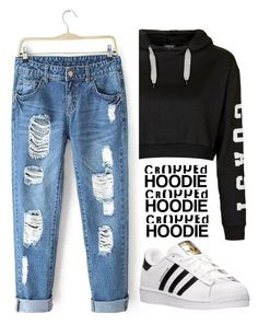 """"""":)"""" by josephine-smith ❤ liked on Polyvore featuring adidas and Topshop"""