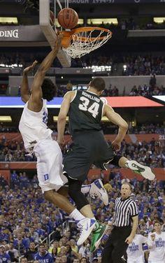 NCAA Michigan St Duke Final Four Basketball