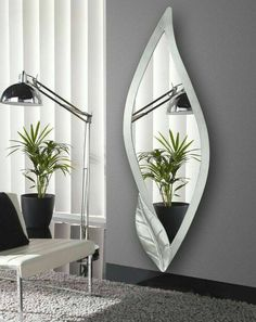 4 Motivated Clever Tips: Wooden Wall Mirror Interior Design wall mirror entrance floors.Wall Mirror Interior Gray living room wall mirror entry ways. Rustic Wall Mirrors, Cool Mirrors, Mirror Shelves, Wall Mirror Ideas, Mirror Art, Mirror Collage, Mirror Bathroom, Decorative Mirrors, Beautiful Mirrors