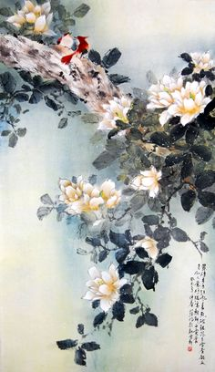 THE CHINESE CANADIAN LINGNAN ARTIST JAMES TAN / 嶺南派畫家-陳蘊化