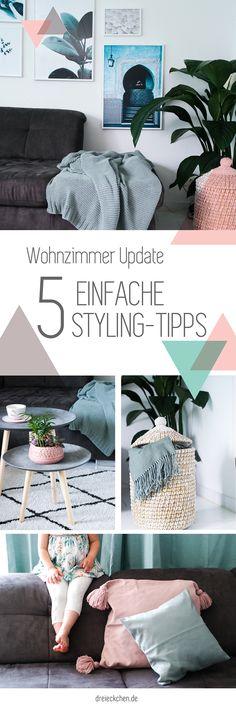 Wohnzimmer Einrichten Und Gemütlich Machen U2013 Inspirationen Für Dein Zuhause  // Werbung