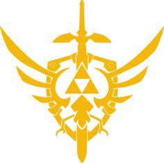 Legend Of Zelda - Skyward Sword Logo a9efaefd085