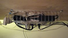 The Brilliance Is Wire Baskets Has S Large Enough To Fit Plugs So Surge Protector Can Go Upside Down Via Lifehacker