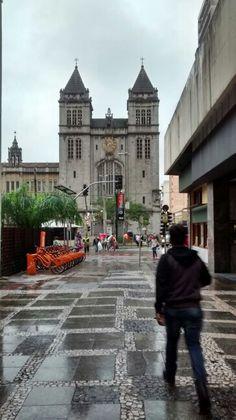 Mosteiro  de São Bento/ Vista da Rua São Bento - São Paulo  -BR 07/2015