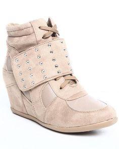 Fashion Lab Women Sneaker Wedge, #ad, #spon