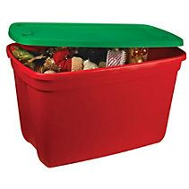 Holiday Tote Container, 72 L Wreaths And Garlands, Canadian Tire, Outdoor Furniture, Outdoor Decor, Outdoor Storage, Compost, Container, Holiday, Home Decor