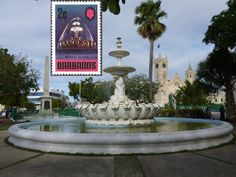 Bridgetown, Barbados - The Dolphin Fountain opened in 1865 to commemorate the introduction of piped water to Bridgetown, in March 1861.