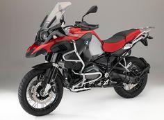 Red motorycle, 4k, BMW R1200GS, 4k wallpaper