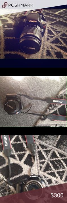 Canon EOS rebel t3 35-55 mm Selling my camera to upgrade, barely used, flawless no scratches canon Other